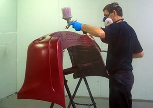 Как покрасить пластиковый бампер своими руками